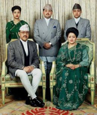 King_Birendra_and_Family