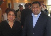 Sethuruban with Rathika Kumarasamy