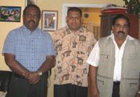 Sethuruban with TELO Selvam and EPRLF Suresh