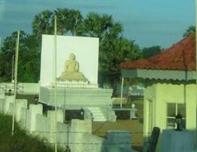 வவுனியாவில் தனிமையில் வாடும் புத்தர்