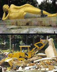 Budtha_Destruction_In_malaysia