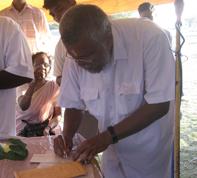 Minister Douglas Devananda