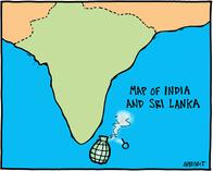 Indo Lanka Cartoon