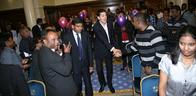 David Milliband Meets London Tamils
